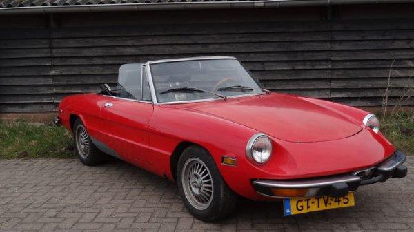 Alfa Romeo Spider 2.0 - 1974