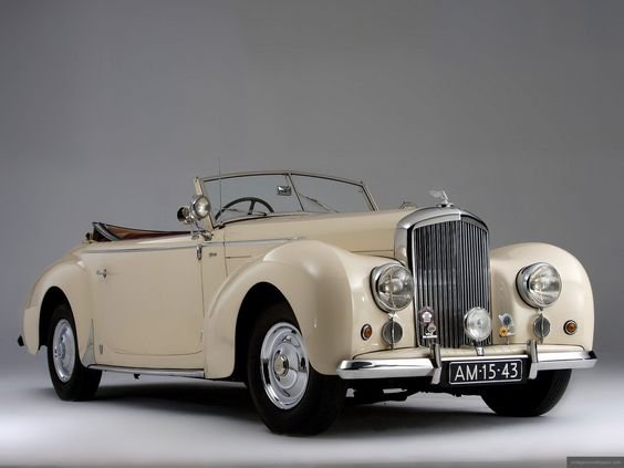 Bentley Mark VI Drophead Coupe, 1948