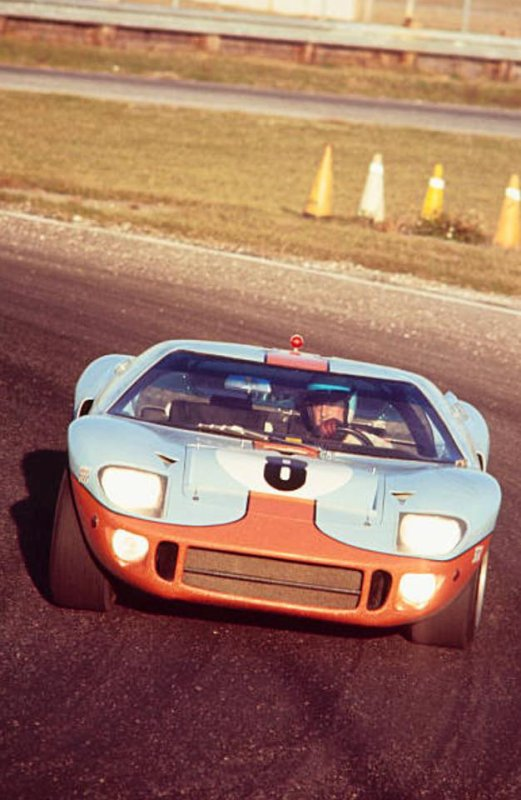 Ickx - Redman GT40, 24 Hours of Daytona, 1968.