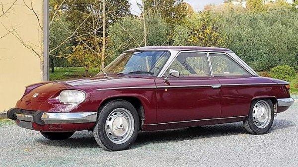 Panhard  24 BT de 1965 Cylindrée  848 cm3.