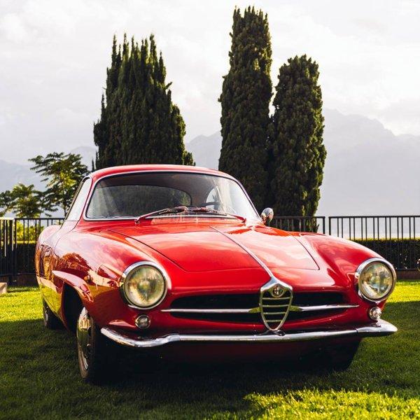 ALFA ROMEO Giulia Sprint Speciale de 1963