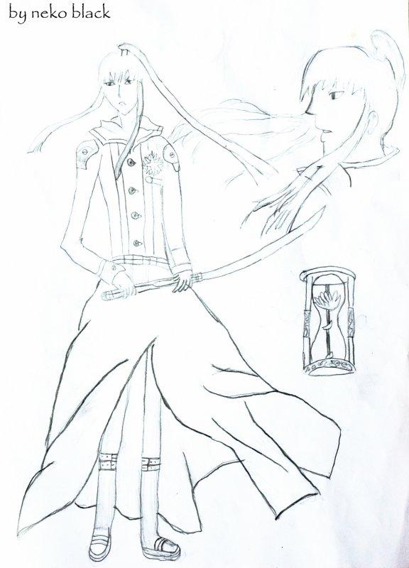 Un dessin de Kanda