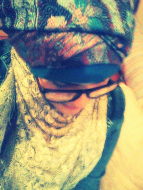 avant de faire le hijab...