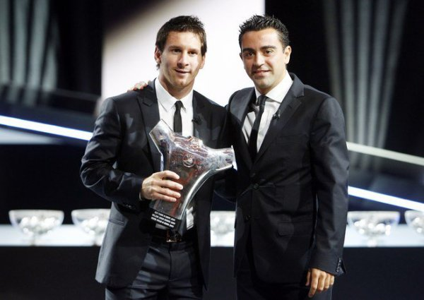 Messi couronné Meilleur joueur d'Europe de l'UEFA!!!!