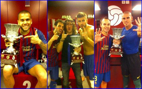 SUPERCOUPE D'ESPAGNE!!!! Campeones!!!!!!!!!