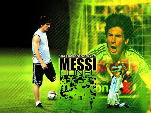 Leo Messi le genie catalan !!!