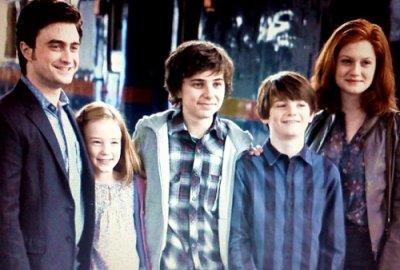 La famille potter blog de harryronhermione19 - Harry potter 8 et les portes du temps ...