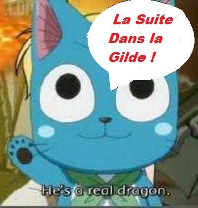Chapitre 3 . Fairy Tail  Endormie