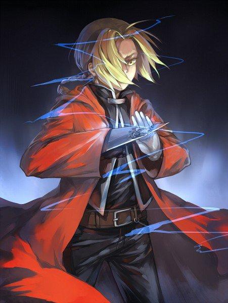 Edward Elrick 1 [Full Metal Alchemist]