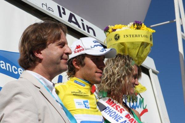Double vainqueur d'étape sur le Tour de l'Ain