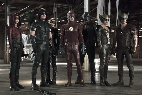 "Arrow - 4x08 - ""Legends Of Yesterday"" - CROSSOVER ARROW/FLASH"