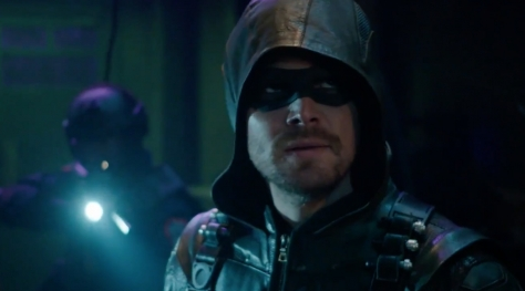 "Arrow - 5x17 - ""Kapiushon"""