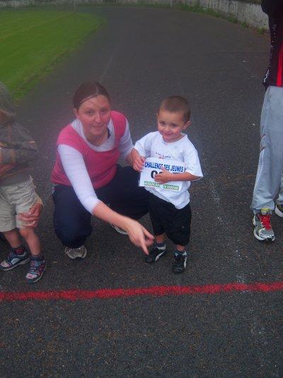 mon fils a la course
