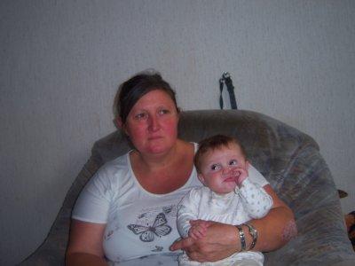 ma fille et sa mamy