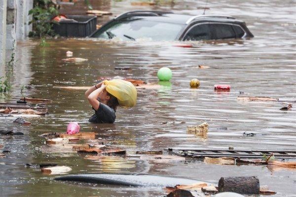 Inondation de notre belle petite Belgique