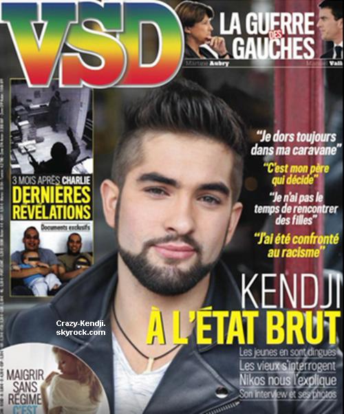 Kendji dans un magazine