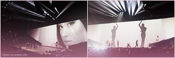 - 02/02/17 '─'Ariana Grande a performée lors de sa tournée « Dangerous Woman Tour » à Phoenix en Arizona.[/s#00000ize]Elle est juste magnifique! Sa première partie est occupé par Victoria Monet & Little Mix! Pour suivre la tournée en intégralitée: DangerousWomanTour  ! -