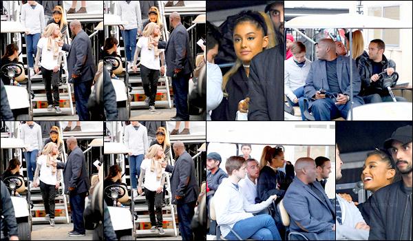 . 02/10/16 ─ Ariana & son mec se sont rendus au « The Meadows Festival » dans la ville de New-York. Il n'y a pas beaucoup de photos lors de ce festival musical mais c'est toujours mieux que de rien n'avoir.. Ari & Mac ne se quittent plus..  .