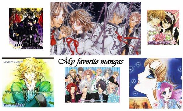 My Favorite Mangas