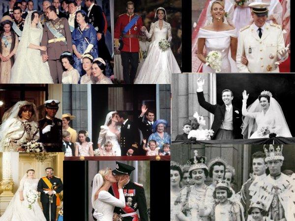 Mariages royaux ...