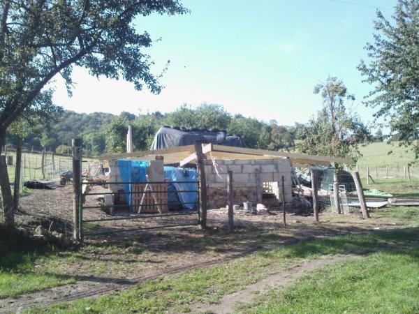 Construction de la bergerie !