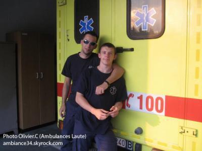 Le convoyeur: Arnaud Franchini (Créateur des Ambulances Boraines)