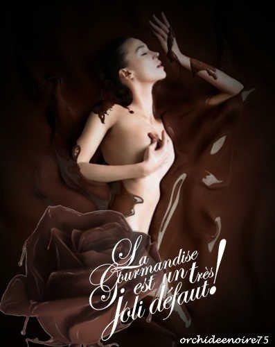 Prenez du chocolat afin que les plus méchantes compagnies vous paraissent bonnes.