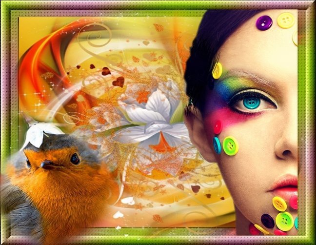 Belles Pensées en couleurs....