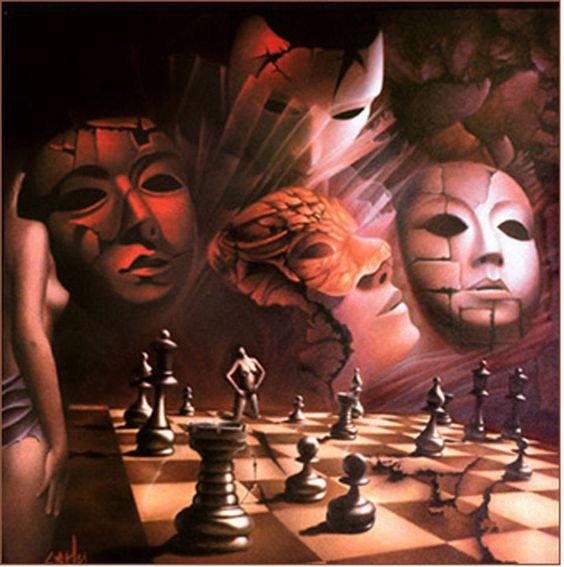 La vie n'est qu'un jeu d'échec et à la fin, le roi et le pion vont dans la même boite.