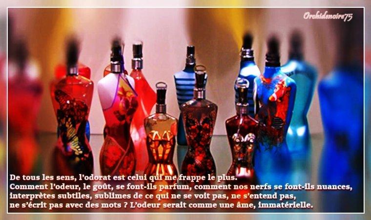 Un parfum est un objet intime, c'est le reflet de l'âme .......