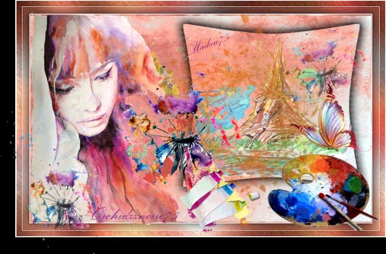 """La peinture est le miroir immuable de tout ce sur l'Univers nous offre de plus beau""""."""