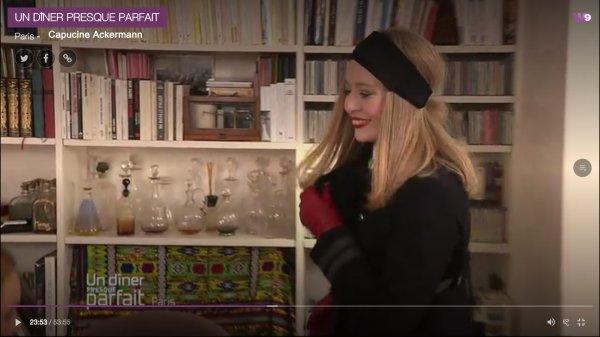 La comtesse de la mode Capucine Ackermann, dans toute son Exubérance !
