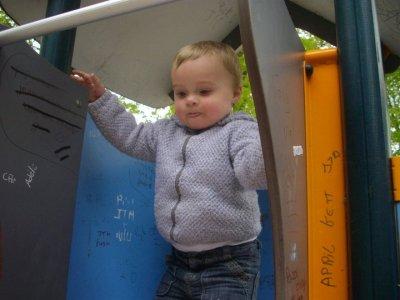 sortie au parc avec tonton fred et tata jenn