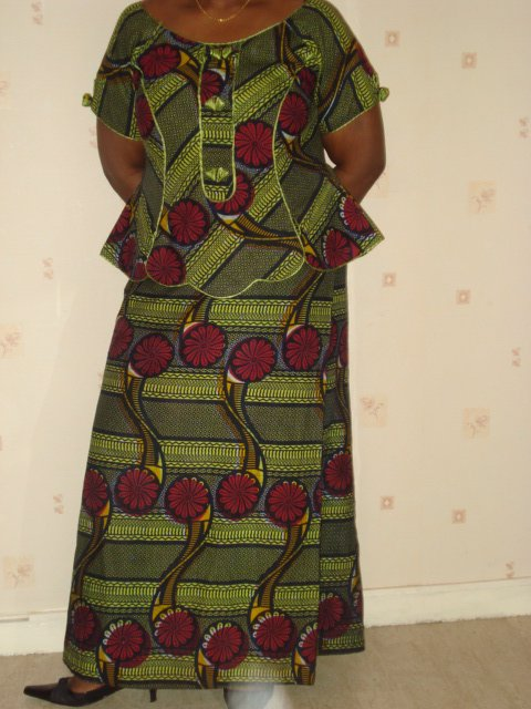 Mode Ivoirienne Pagne Taille Basse