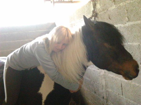 moi et mon pti cheval