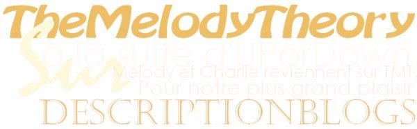 Description #05 : TheMelodyTheory.