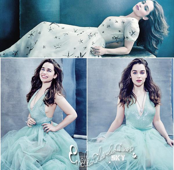 - PHOTOSHOOT _________________________________The Hollywood Reporter  Découvrez enfin en exclusivité le premier photoshoot d'Emilia cette année ! La miss fait la couverture du magazine The Hollywood Reporter et nous dévoile des photos encore plus sublime que jamais, dans une ambiance très simple et très glamour, avec des tenues vraiment magnifiques ! Coup de coeur ! Qu'en pensez-vous ?