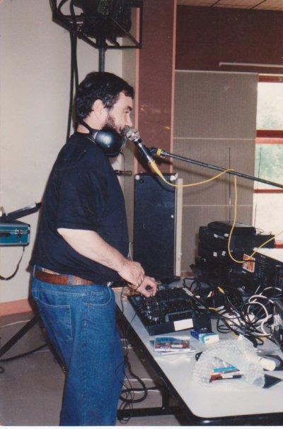Animation de disco-tempo à Bassillac en septembre 2000