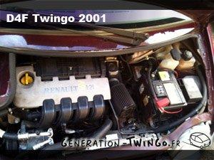 Motorisation de la Twingo