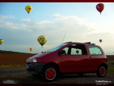 Une Twingo et des ballons ?