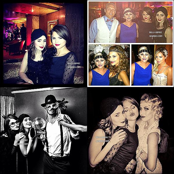 21/07/2013 : Sel et son amie Lily Collins ont été vu arrivant à sa pre-soirée d'anniversaire à l'hôtel Roosevelt.