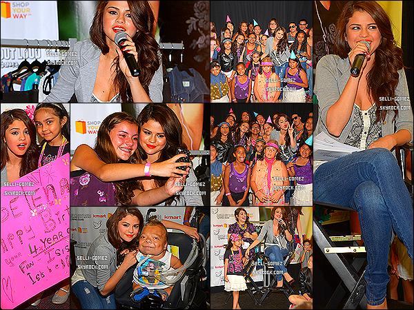 24/07/13 : Selly était au lancement de sa collection Automne de Dream Out Loud à New York.