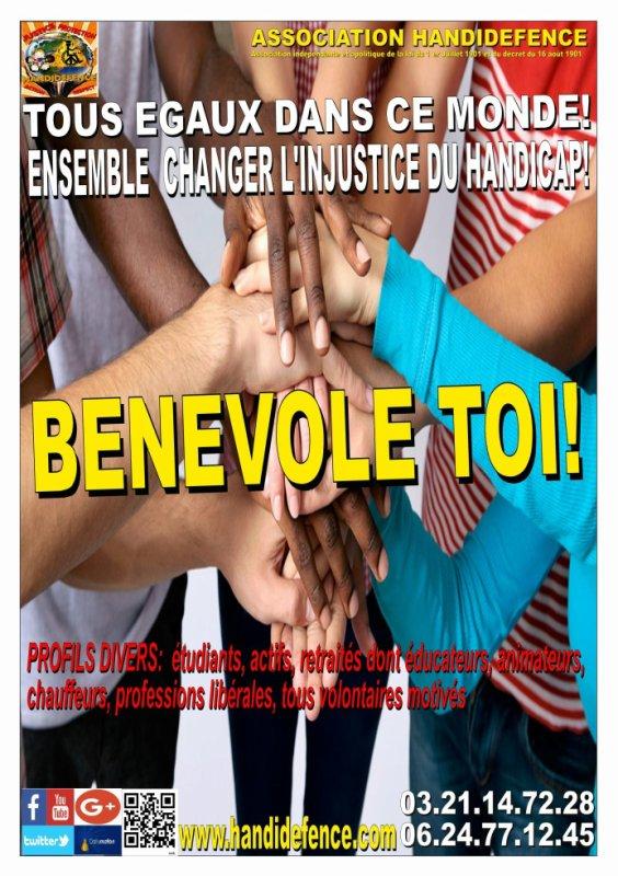 """LANCEMENT DE LA CAMPAGNE BENEVOLAT """"BENEVOLE TOI!"""""""
