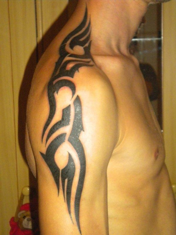 voila mon tatouage fini !!