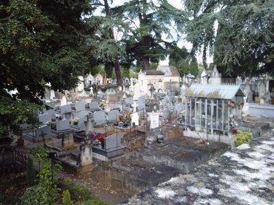 Le cimetière de Cahors