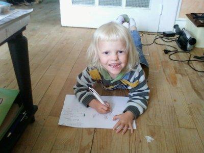 Ma fille Rébecca 3 ans