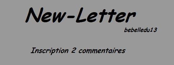 New Letter de bebelledu13