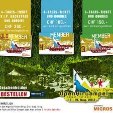Openair Gampel Festival, Suisse