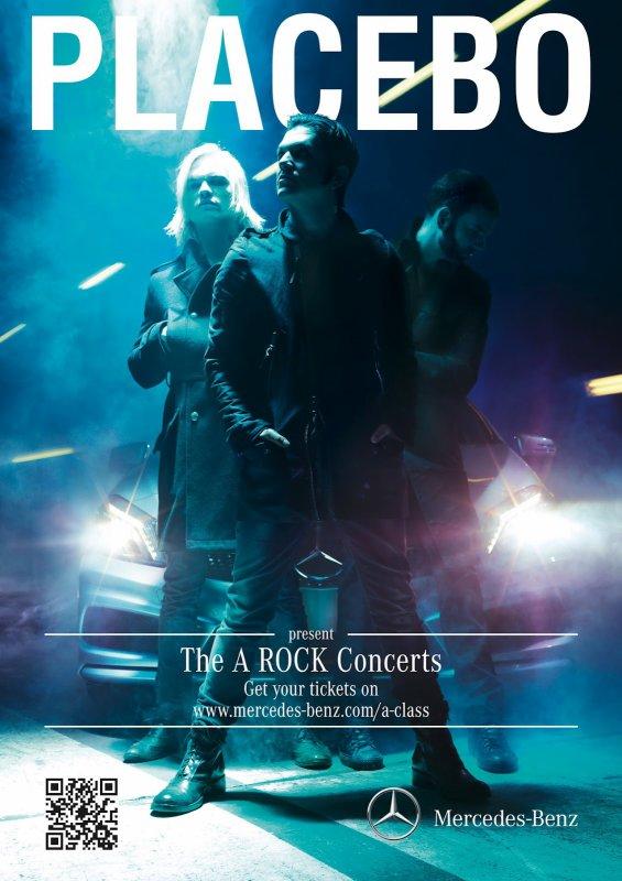 Placebo à Paris, Rome, Zurich, Hambourg et Madrid (juin/juillet 2012)