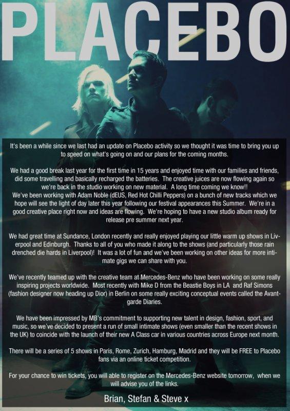 Des nouvelles de Brian, Stefan & Steve